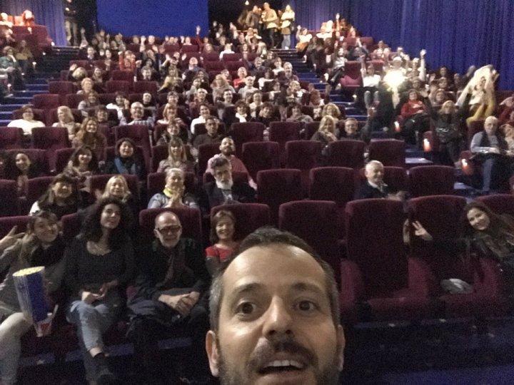 selfie del director