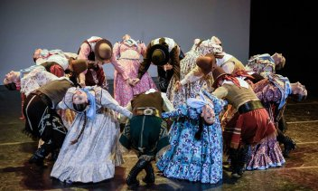 Ballet Folkórico Nacional. Foto: Prensa