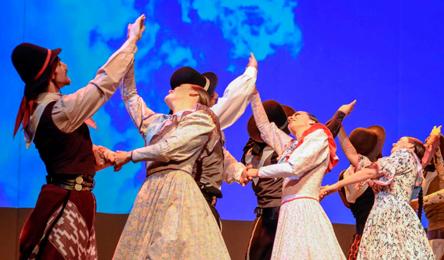 Ballet Folklórico Nacional. Foto: Prensa