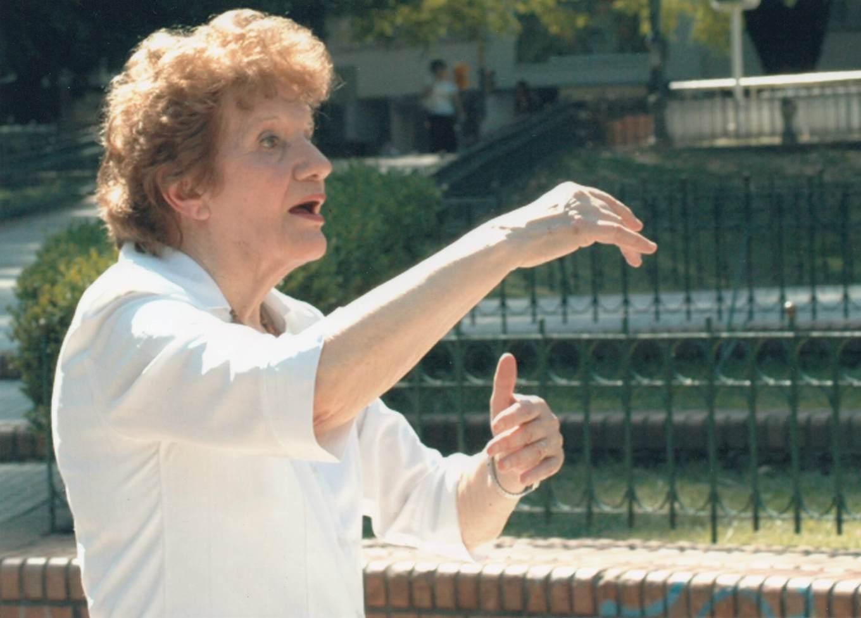 Vilma Gorini de Teseo. Fuente:Prensa, Secretaria de la Cultura de la Nación